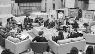 The cast of the new Star Wars film.