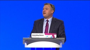 The Shadow Chancellor Ed Balls.