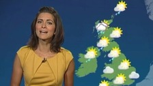 Blustery showers in the far north but fine elsewhere