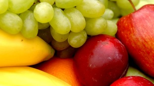 Five pieces of fruit and veg a day may well be enough.