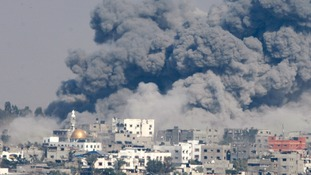Over 1000 Palestinians, mostly civilians, have been killed in recent Israeli raids on Gaza.