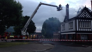Dunston: It is unclear how the fire started