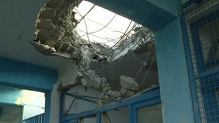 The attacks in Jebalya, northern Gaza, killed 43 in total, Palestinian officials say.