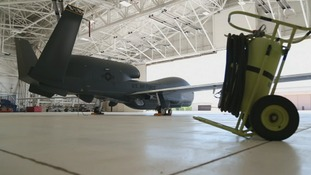 The Global Hawk can fly non-stop for 36 hours without a pilot.