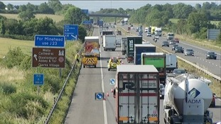 Road reopens after M5 crash