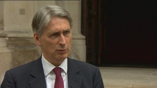 Foreign Secretary Philip Hammond said sanctions were weakening the Russian economy.