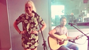 Amelia Lily performed live for Metro Radio