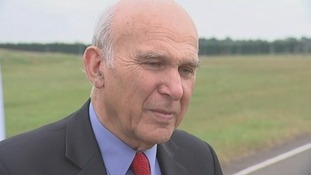 Vince Cable welcomed the new rules on bank bonuses.