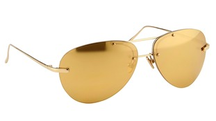 24 carat gold plated lenses