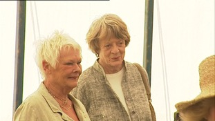 Dames Judy Dench and Maggie Smith