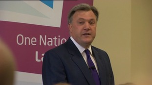 Ed Balls speaking in Bedford
