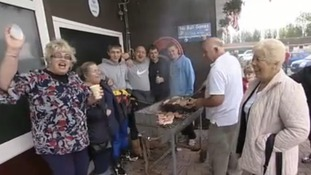 BBQ for victims of Sussex floods