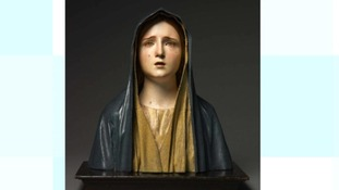 The Virgin of Sorrows by Spanish artist Pedro de Mena.