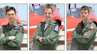 New recruits for Red Arrows