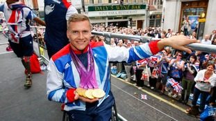 David Weir won four gold medals at London 2012.