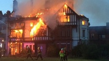 Fire at former Cadbury family house confirmed as arson