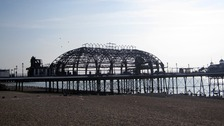 In pictures: Eastbourne Pier is destroyed by blaze