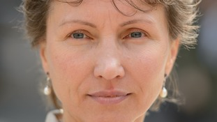 Marina Litvinenko, the widow of Alexander Llitvinenko.