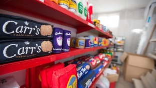 Felt products line the shelves