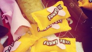 Felt Funny Feet
