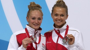Silver medalists Sarah Barrow and Tonia Couch have qualified for the individual 10m diving final