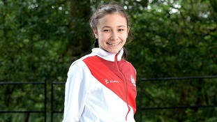 13-year-old Victoria Vincent has qualified for the 10m diving final