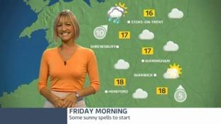 West Midlands weather update