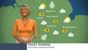 East Midlands weather update