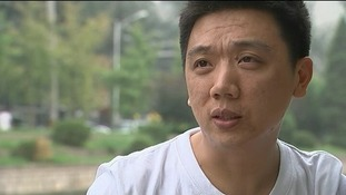 Xiao Zheng who is challenging his treatment by a Chinese gay conversion clinic.