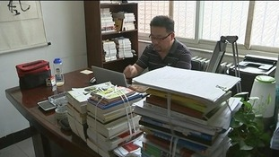 Therapist Zhao Qigang who runs a gay conversion centre in Beijing.
