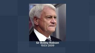 Sir Bobby Robson.