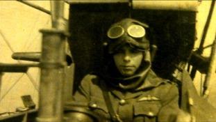 WW1 pilot Capt. Harold Satchell.