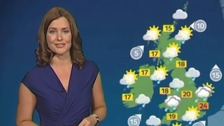 Unsettled with rain, scattered showers and sunny spells