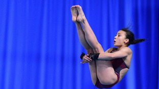 At the age of 13 diver Victoria Vincent has competed in her first Commonwealth Games.