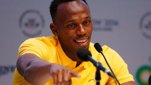 Usain Bolt has not competed all year due to a foot injury.