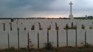 War Graves on the Somme