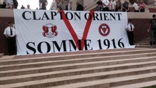 Orient fans on the Somme