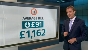 British Gas says its customers' average bills are falling.