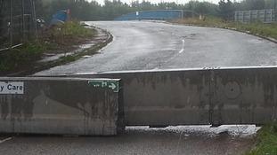 Bridge closed over M56
