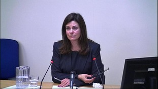Jacqui Hames testified to the Leveson Inquiry this afternoon
