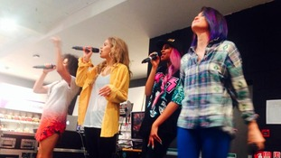 Neon Jungle perform in Gateshead