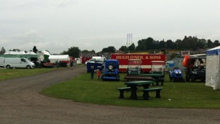 Trade and goods stands will be at the event, as well as 400 horses
