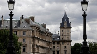 The disappearance was reported to have taken place at police HQ in central Paris.