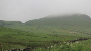 Cloudy at Mam Tor