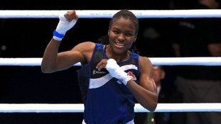 England's boxer Nicola Adams wins women's fly semi final