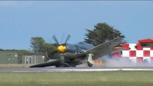 Plane making emergency landing at RNAS Culdrose