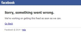 Facebook back online after second outage in two months