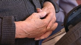Older people's hands