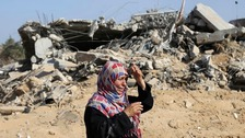 Collapse of hope in Gaza as ceasefire unravels in hours