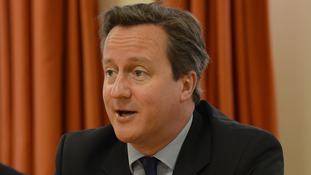 "Prime Minister David Cameron is calling on Nato to act after Russia's ""illegal"" activities in the Ukraine."